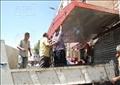 حملة إزالة الإشغالات من شارع الهرم - تصوير: مجدي أبو الفتوح