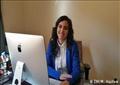 نورهان عبد العزيز، الباحثة بمركز دراسات الهجرة واللاجئين بالجامعة الأمريكية