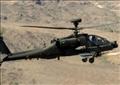 طائرت الأباتشي تقصف اهداف في شمال سيناء