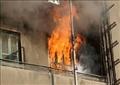 إخماد حريق هائل ببولاق أبو العلا دون إصابات.. وانهيار جزئي للعقار
