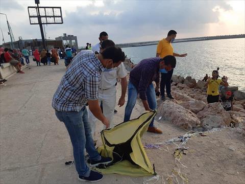 التحفظ على الطائرات الورقية في الإسكندرية