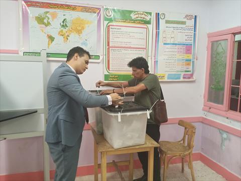 غلق لجان انتخابات مجلس الشيوخ بجنوب سيناء