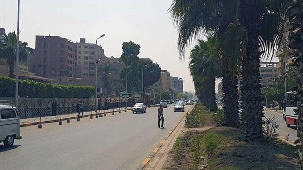 اغلاق شارع الهرم