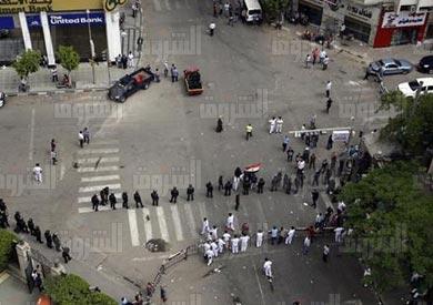 الازمة بين الداخلية ونقابة الصحفيين - تصوير: ابراهيم عزت