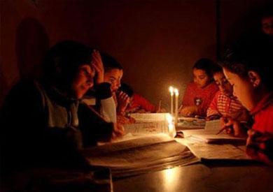 الشيخ زويد ورفح بدون كهرباء بعد تعطل الخط الرئيسي
