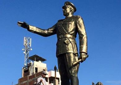 وضع تمثالين لـ«عبد الناصر» و«السادات» في بورسعيد
