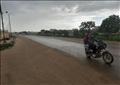 أمطار خفيفة إلى متوسطة الشدة ورعدية على معظم الأنحاء