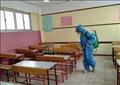 الإدارات التعليمية بمحافظة القاهرة تجري عمليات تعقيم لمقار اللجان الامتحانية