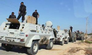 قوات الأمن المركزي في سيناء – صورة أرشيفية