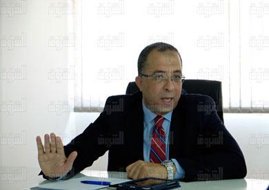 أشرف العربى  وزير التخطيط-  تصوير علي هزاع