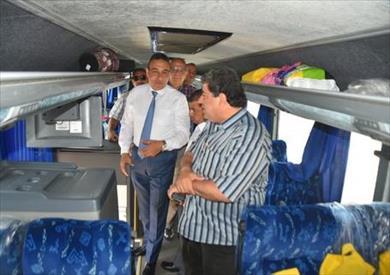 زيارة لجنة النقل و المواصلات بمجلس النواب لمحافظة مطروح