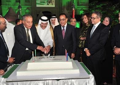 احتفال السفارة السعودية بمشاركة رئيس الوزراء
