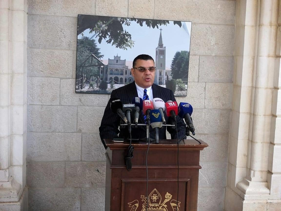 سفير مصر في لبنان الدكتور ياسر علوي