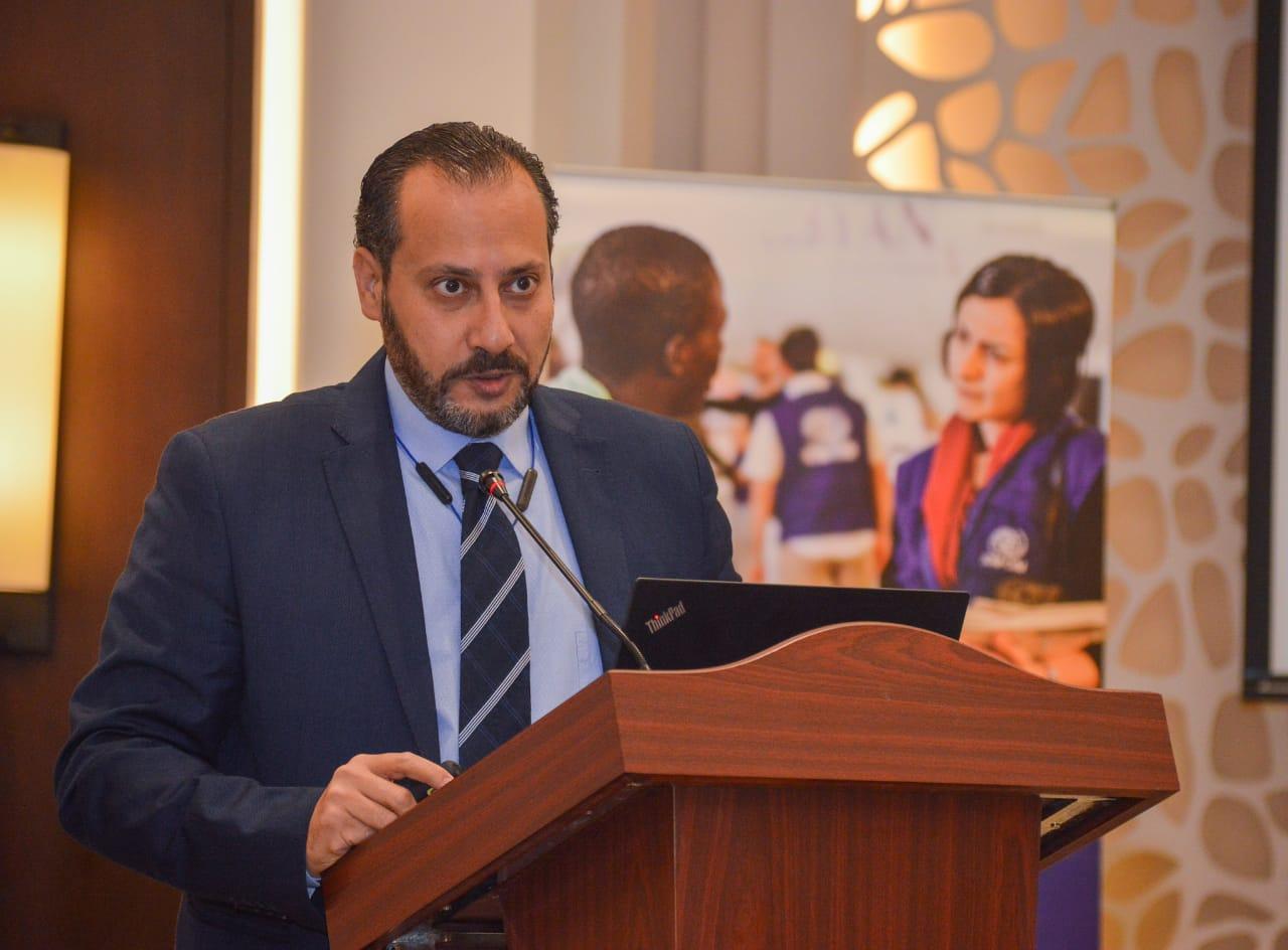صابر سليمان مساعد وزيرة الهجرة للتطوير المؤسسي