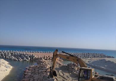 أعمال حماية الشواطئ