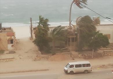الرياح بشمال سيناء