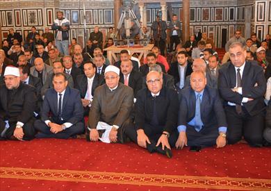 افتتاح مسجد قصر عابدين