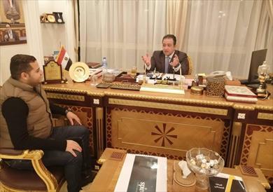 محرر الشروق مع النائب علاء عابد