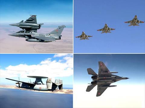 القوات الجوية المصرية والفرنسية