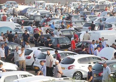 غلق سوق السيارات