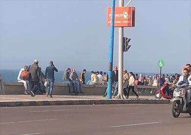 تجمعات بكورنيش الإسكندرية