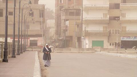 غياب الحياة بمدن شمال سيناء