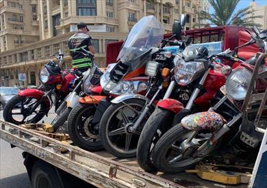 المركبات المضبوطة في الإسكندرية