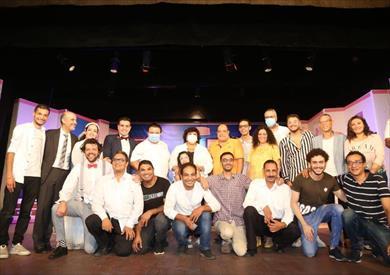 وزيرة الثقافة تشهد عرضين من المبادرة المسرحية المؤلف مصري