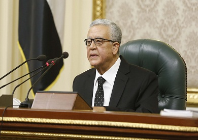 حنفى الجبالى رئيس مجلس النواب  تصوير جيهان نصر