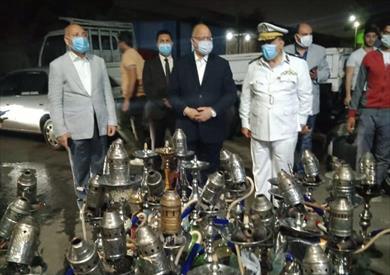 محافظ القاهرة يترأس حملة ليلية
