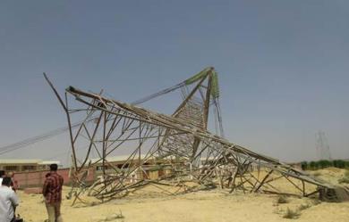 تفجير أبراج الكهرباء- أرشيفية