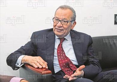 المهندس إبراهيم المعلم - تصوير مجدى إبراهيم