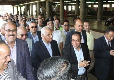 وزير النقل: برنامج إصلاحي كبير للسكك الحديدية
