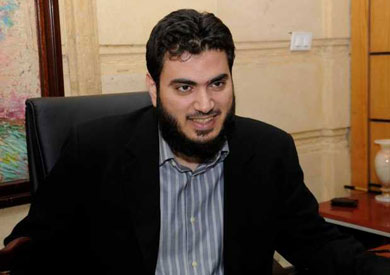 محمود فتحى بدر رئيس حزب الفضيلة
