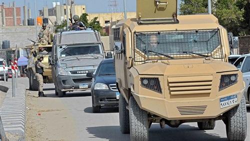 ضبط 492 مخالفة مرورية و87 محكومًا عليهم في شمال سيناء