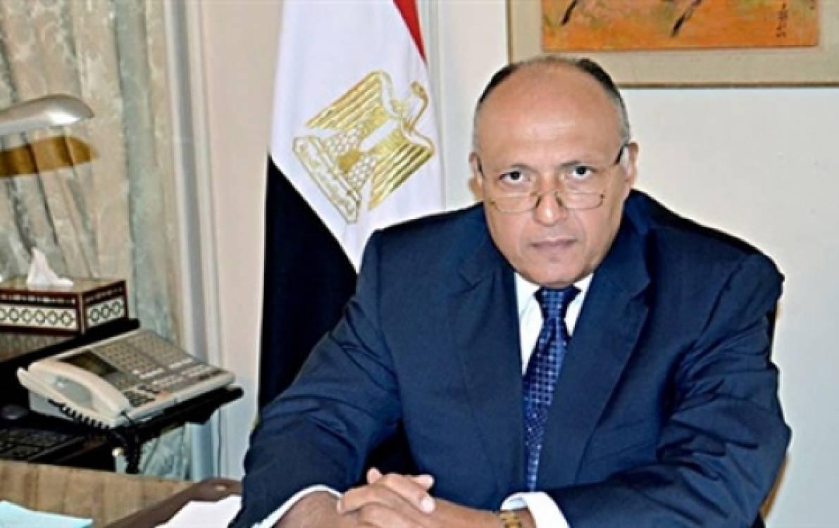 السفير سامح شكري وزير الخارجية