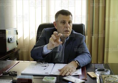 محمود المتينى عميد كلية الطب بجامعة عين شمس تصوير احمد عبد اللطيف