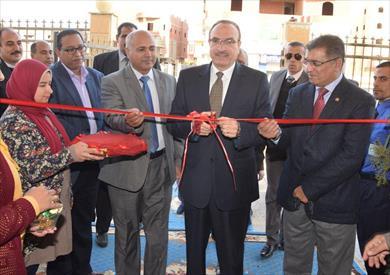 بالصور.. محافظ بني سويف يفتتح مقر بنك الدم الإقليمي الجديد بشرق النيل