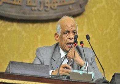 رئيس المجلس، د. علي عبد العال
