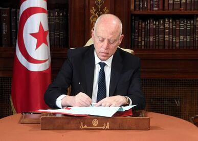 قيس سعيد: باق على العهد حتى تتحقق مطالب الشعب التونسي