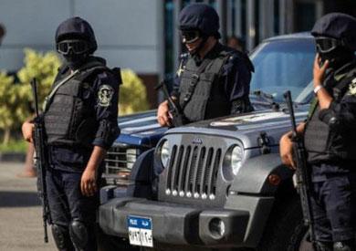 أرشيفية _ قوات من الشرطة المصرية