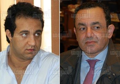 عمرو الشوبكي واحمد مرتضى منصور