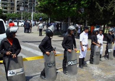 إصابة 4 من قوات الشرطة في هجوم مسلح بالجيزة