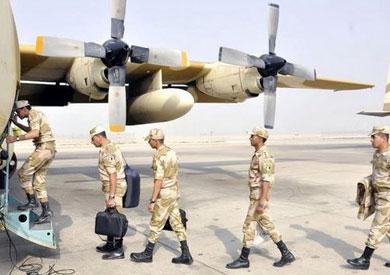 إغلاق المجال الجوى بمطار القاهرة لإجراء تدريبات عسكرية