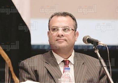 اندريه زكى رئيس الهيئة القبطية الانجيلية - تصوير ايمان هلال
