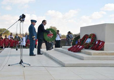 مدينة العلمين تشهد احتفالات دول المحور والحلفاء بذكري مرور 73 عاماً علي نهاية الحرب العالمية الثانية