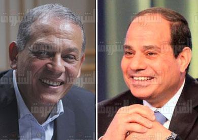 سيسي والنائب أنور السادات