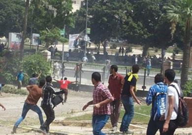 اشتباكات بين طلاب الإخوان والأمن في جامعة بني سويف - أرشيفية