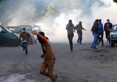 اشتباكات بين الأمن والمتظاهرين في المطرية – أرشيفية