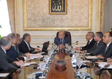 مجلس الوزراء برئاسه شريف إسماعيل